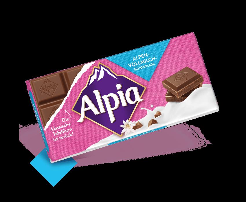 Produktbild für Alpenvollmilch